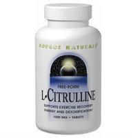 Source Naturals L-Citrulline - 500 mg - 120 Capsules