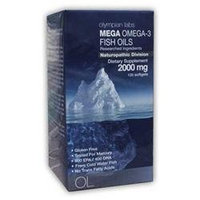 Olympian Labs Mega Omega-3 Fish Oils 2000mg 120 softgels