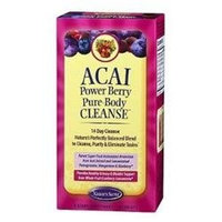 tures Secret Nature's Secret Acai Power Berry Pure-Body Cleanse