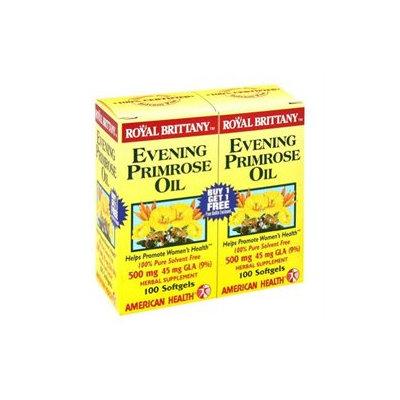 American Health Royal Brittany Evening Primrose Oil 100+100 Softgels