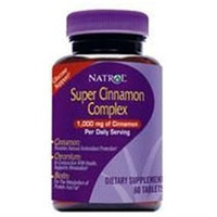 Cinnamon Biotin Chromium by Natrol - 60 Tablets