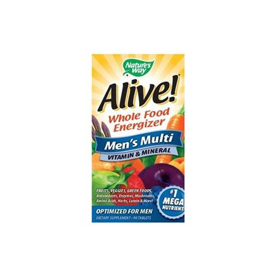 tures Way Alive! Men's Multi-Vitamin by Nature's Way - 90 Tablets
