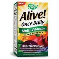 tures Way Nature's Way Alive! Once Daily Multi-Vitamin Ultra Potency