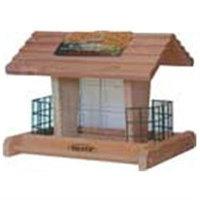 Heath Cedar Suet & Seed Bird Feeder