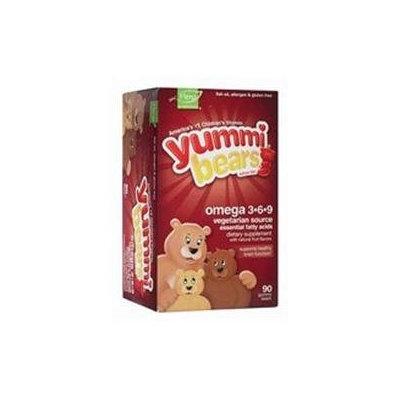 Yummi Bears Omega, Gummy Bears, 90 ea