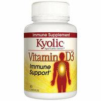 Kyolic Vitamin D3 Immune Support 80 Caps