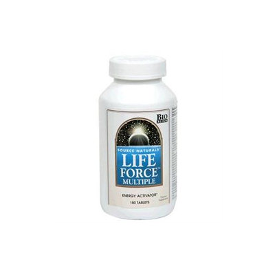 Source Naturals Life Force Multiple with Iron - 180 Tablets