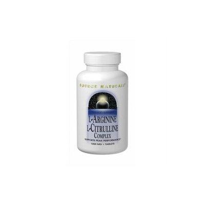 Source Naturals L-Arginine L-Citrulline Complex - 120 Tablets