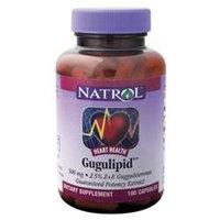 Natrol Gugulipid 500 mg Dietary Supplement Capsules