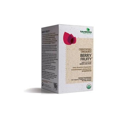 Futurebiotics 4720029 Certified Organic Berry Fruity 90 Tablets