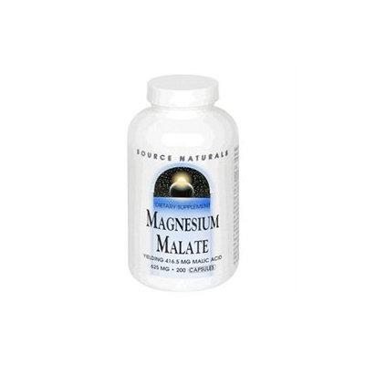 Source Naturals Magnesium Malate 625mg 200 capsules