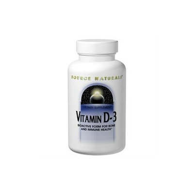Source Naturals - Vitamin D-3 2000 IU - 200 Softgels