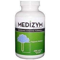 Naturally Vitamins - Medizym Systemic Enzyme Formula - 400 Tablets