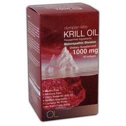 Olympian Labs Krill Oil 1000mg, 60 softgels
