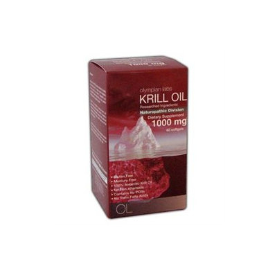 Olympian Labs Krill Oil 1000mg, 60 softgels