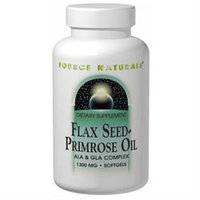 Source Naturals Flax Seed-Primrose Oil 1300mg 90 softgels