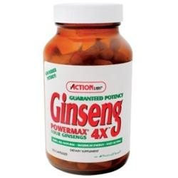 Action Labs Ginseng Power Max 4X 50 capsules