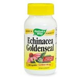 Natures Way Echinacea Goldenseal Combo 450mg