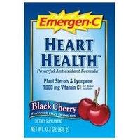 Alacer Emergen-C Heart Health, Black Cherry