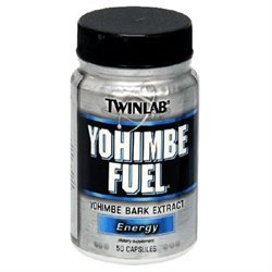 TwinLab Yohimbe Fuel - 50 Capsules - Other Herbs