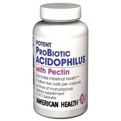 American Health Products Acidophilus W/Pectin 50 MILL - 100 Capsules - Acidophilus / Probiotics