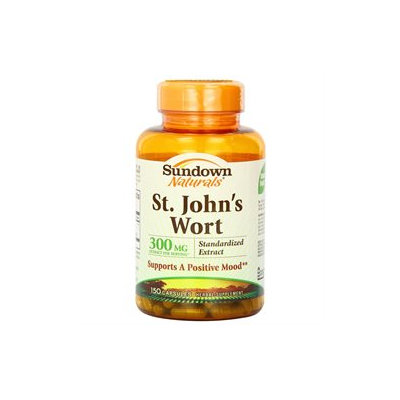 Sundown Vitamin C & E Sundown Naturals St. John's Wort - 300 mg - 150 Capsules