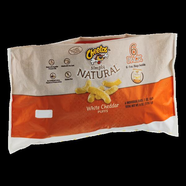 Cheetos Simply Natural White Cheddar Puffs Reviews