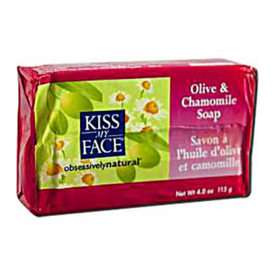 Kiss My Face Corp. Kiss My Face Bar Soap Olive and Chamomile 4 oz