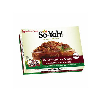 So-Yah! Hearty Marinara Sauce