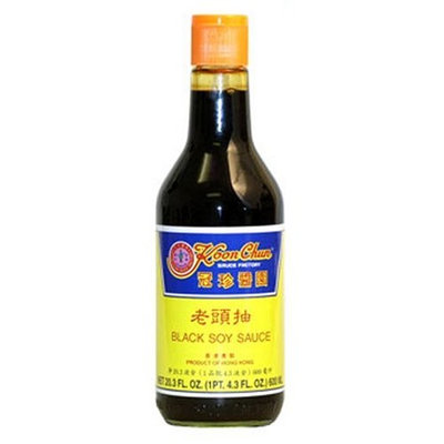 Koon Chun Black Soy Sauce, 20.3-Ounce Bottle (Pack of 2)
