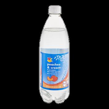 Ahold Seltzer Water Peaches & Cream