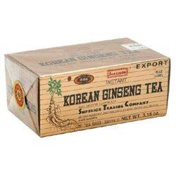 Superior Trading Co. 0859322 Instant Korean Ginseng Tea - 30 Tea Bags