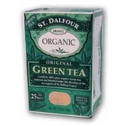 St. Dalfour Organic Green Tea Original - 25 Tea Bags