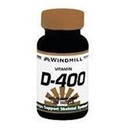 Windmill Vitamin D 400 IU Tablets - 100 ea