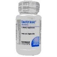 Lactrase Capsules Lactrase Lactase Dietary Supplement Capsules - 100 Ea