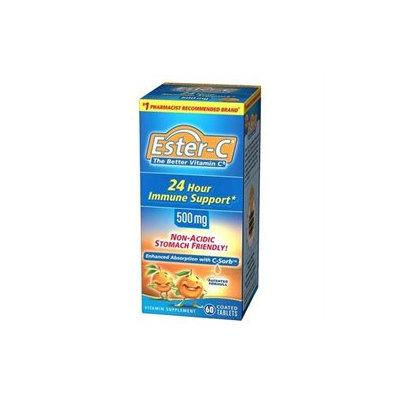 Ester-C Vitamin C 500mg Tablets - 60 Count
