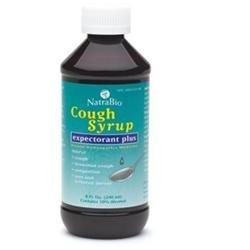 tra-bio NatraBio Cough Syrup Expectorant Plus - 8 fl oz