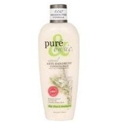 Pure & Basic - Conditioner Anti-Dandruff Tea Tree & Rosemary - 12 oz.