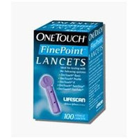 Onetouch Lancets OneTouch Fine Point Sterile Lancets, 100 ea
