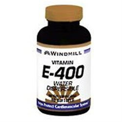 Vitamin E-400 IU Water Dispersible, 90 Softgels, Windmill Health Products