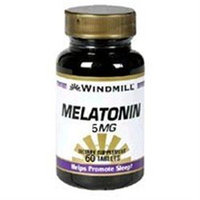 Melatonin 5 mg, 60 Tablets, Windmill Health Products