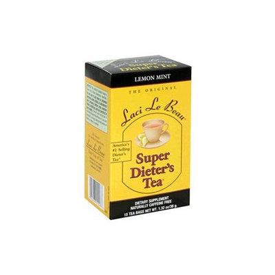 Laci Le Beau Super Dieter's Tea Lemon Mint, 15 Tea Bags, Natrol