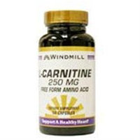 L-Carnitine 250 mg, 50 ct, Windmill Health Products