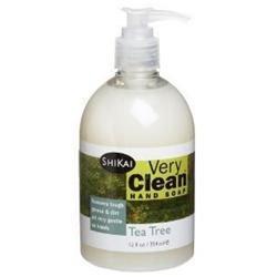 SHIKAI Very Clean Hand Soap Tea Tree 12 OZ