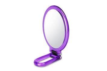 Bh Cosmetics Folding Handheld Makeup Mirror-Purple