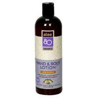 Lily Of The Desert - Aloe 80 Organics Hand & Body Lotion Citrus - 16 oz.