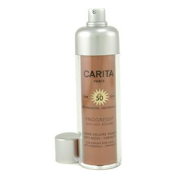 Carita Progressif Anti-Age Solaire Sun Cream for Face SPF 50 50ml