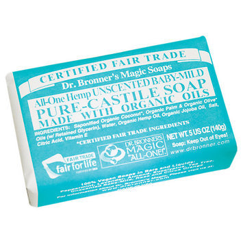Dr. Bronners 371533 Baby Mild Bar Soap