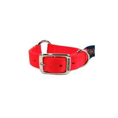 Hamilton Pet Company - Safe-rite Dog Collar With Tape- Orange 1 X 18 - SR-TAPE 18OR