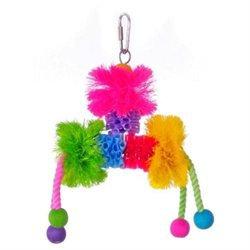 Prevue Pet Products Prevue Hendryx Calypso Creations Plucky Medium Bird Toy